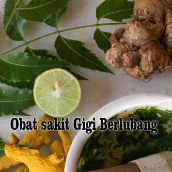Obat Sakit Gigi Berlubang poster