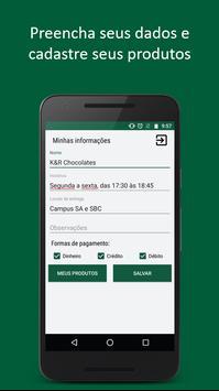 Central UFABC - Vendedores apk screenshot