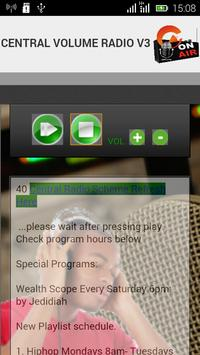 Central Volume Radio apk screenshot