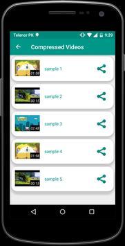 Fast Video Compressor apk screenshot