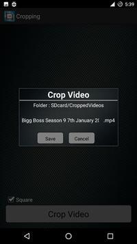 Fast Video Cropping apk screenshot