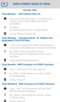 Employment News of India screenshot 3