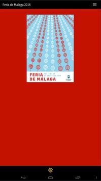 Feria de Málaga 2016 poster