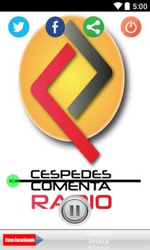 Cespedes Comenta Radio poster