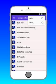 EL BAÑO Enrique Iglesias screenshot 2