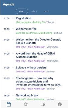 CERN MeetApp apk screenshot