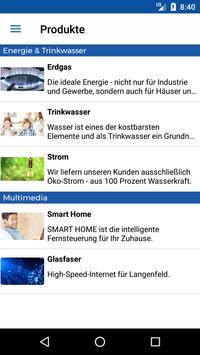Stadtwerke Langenfeld screenshot 2