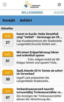 Stadtwerke Langenfeld poster