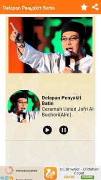 Ceramah Ustad Jefri Al Buchori apk screenshot