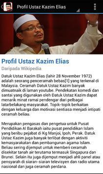 Ceramah Ustaz Kazim Elias screenshot 1