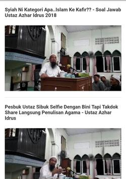 Ceramah Ustaz Azhar Idrus Terkini apk screenshot