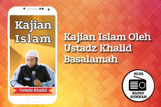 Khalid Basalamah Kajian Sunnah & Radio Sunnah poster