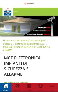 MGT Elettronica Bologna poster