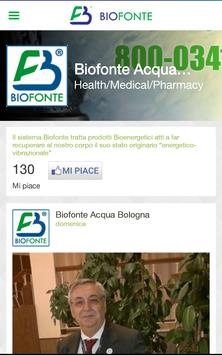 Biofonte Acqua Bologna apk screenshot