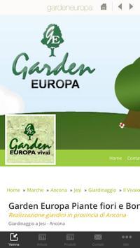 Garden Europa poster