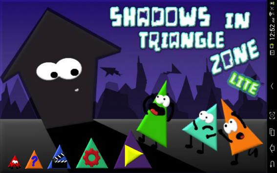 Shadows In Triangle Zone LITE poster