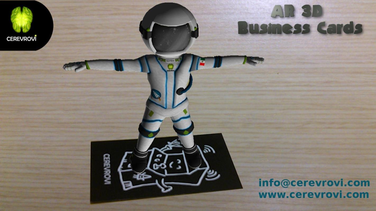 AR 3D Business Cards APK ダウ...