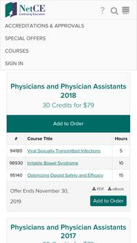 NetCE offers personalized learning solutions for nurses, physicians, dentists and other healthcare professionals. Our quality continuing education courses, written by expert faculty, are free from commercial support and provide the learner with relevant and timely topics in medical education.