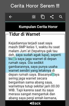 Cerita Horor screenshot 4