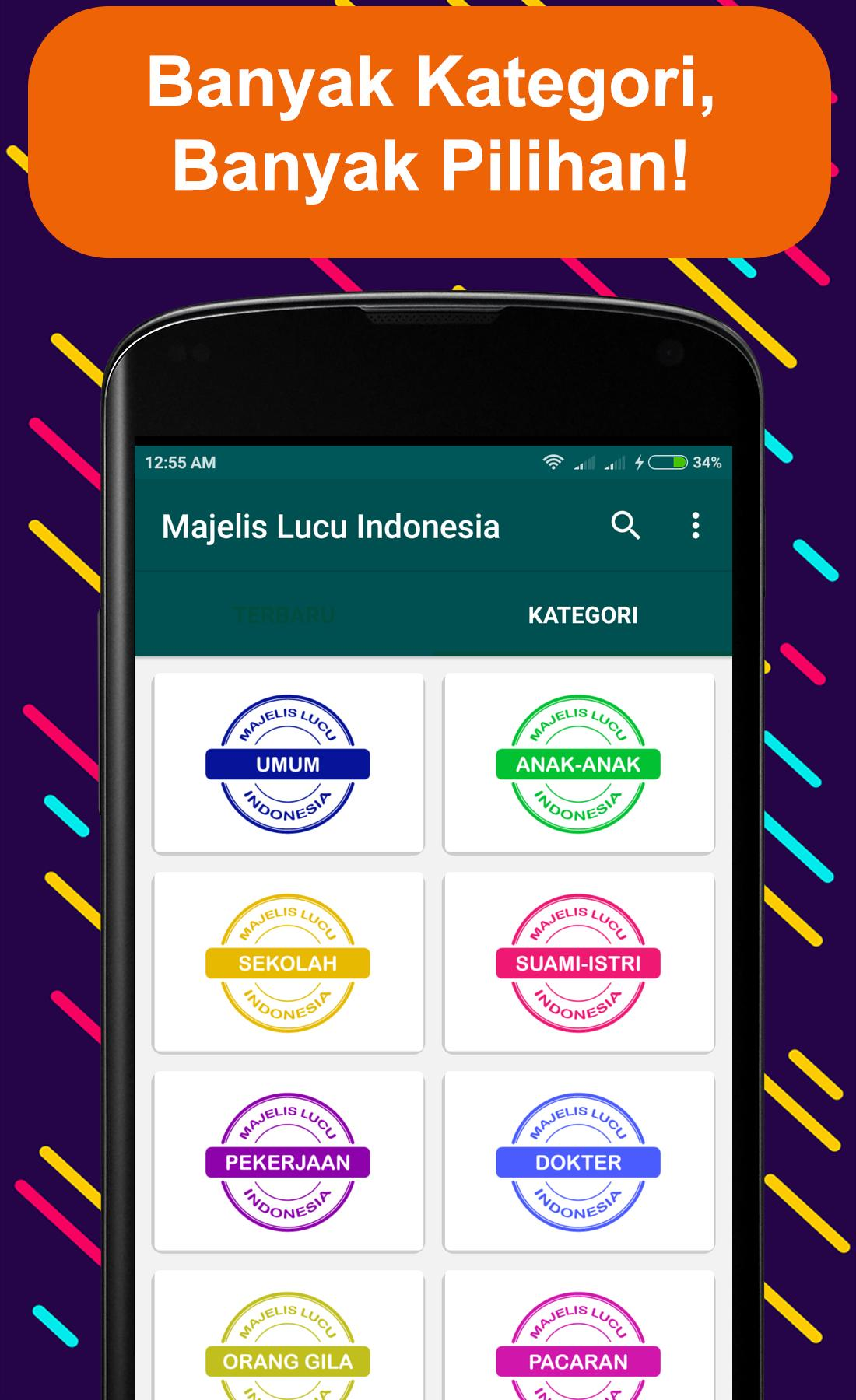 Majelis Lucu Indonesia For Android APK Download