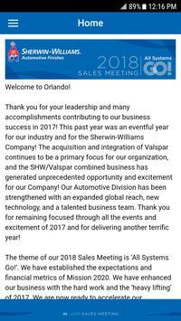 Sherwin-Williams Auto Sales Meeting 2018 screenshot 3