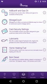 Certas Energy Fuel Card apk screenshot