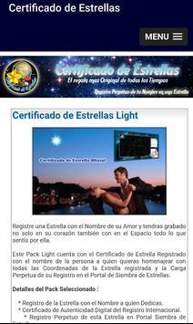 Certificado de Estrellas poster