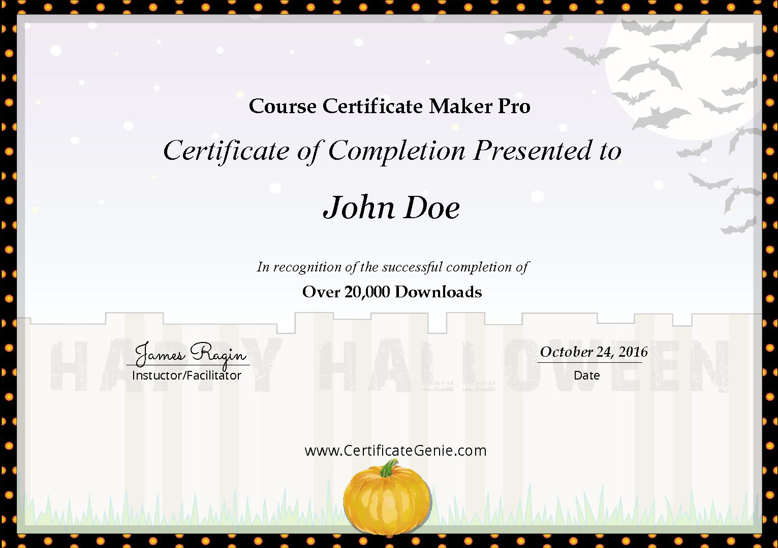 Course Certificate Maker Pro for Android - APK Download