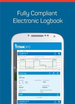 Titan GPS Electronic Logbook poster