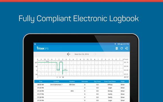 Titan GPS Electronic Logbook screenshot 10