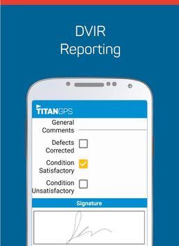 Titan GPS Electronic Logbook apk screenshot