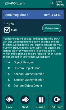 CB 1Z0-465 Oracle Exam apk screenshot