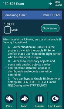CB 1Z0-526 Oracle Exam screenshot 7
