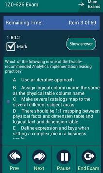 CB 1Z0-526 Oracle Exam screenshot 8