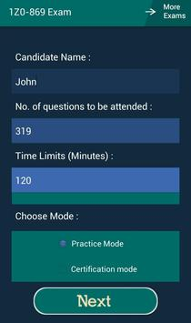 CB 1Z0-869 Oracle Exam screenshot 11