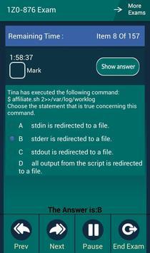CB 1Z0-876 Oracle Exam apk screenshot