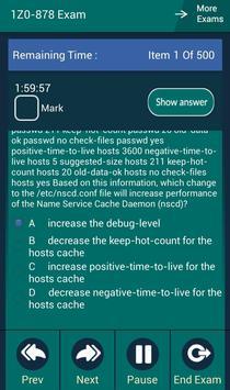 CB 1Z0-878 Oracle Exam apk screenshot