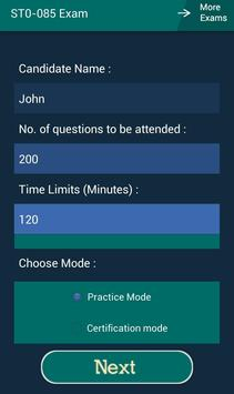CB ST0-085 Symantec Exam apk screenshot