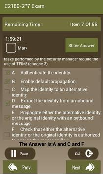 CT C2180-277 IBM Exam apk screenshot