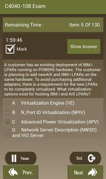 CT C4040-108 IBM Exam apk screenshot