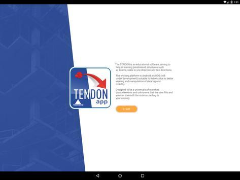 TENDON APP poster