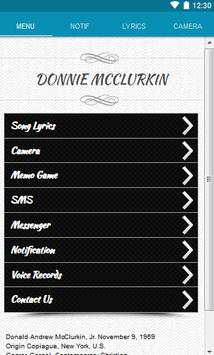 Donnie McClurkin Lyrics screenshot 8