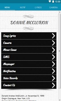 Donnie McClurkin Lyrics poster