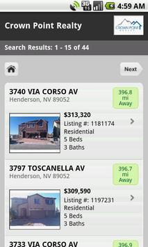 Las Vegas Home Search apk screenshot