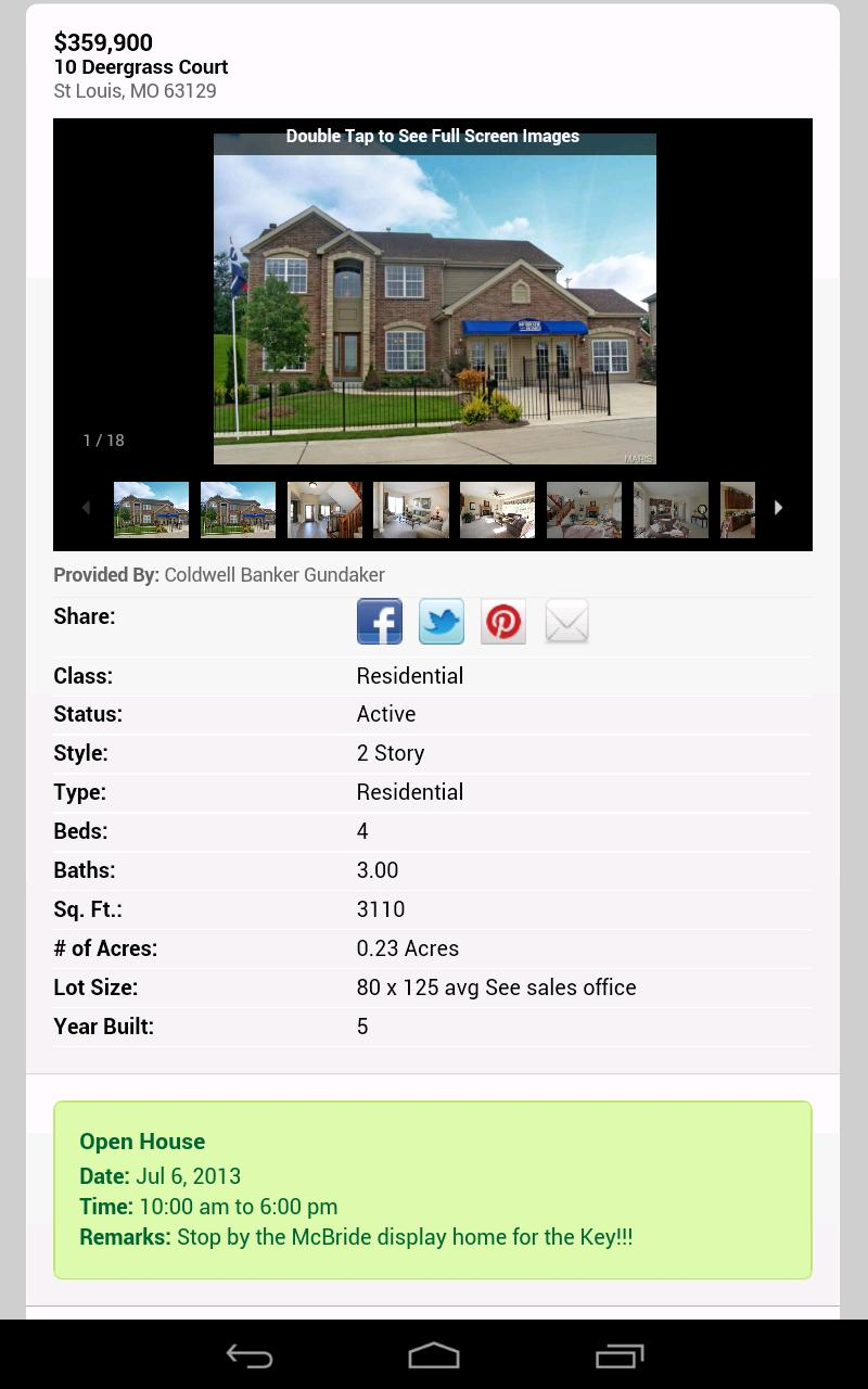 St Louis Real Estate Search poster