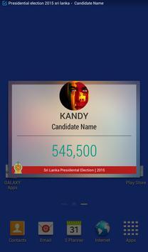 Presidential Election SriLanka apk screenshot