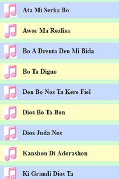 Papiamentu Gospel Songs apk screenshot