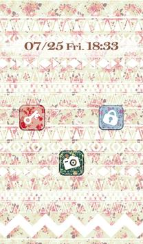 Cutewallpaper★Geometric Flower screenshot 1