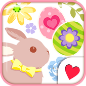 Cute wallpaper★Happy Easter icon