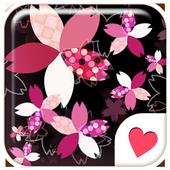 Cute wallpaper★Modern SAKURA icon